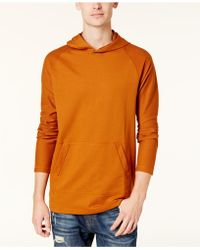 American Rag - Men's French Terry Funnel-neck Hoodie - Lyst