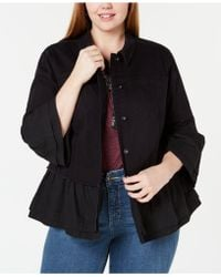 Style & Co. - Plus Size Tiered Denim Jacket, Created For Macy's - Lyst