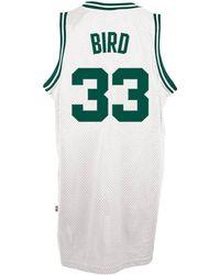 fa7492a5615f adidas - Men s Larry Bird Boston Celtics Retired Player Swingman Jersey -  Lyst