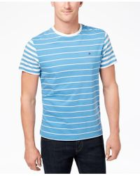 Tommy Hilfiger - Suffolk Colorblocked Stripe T-shirt, Created For Macy's - Lyst