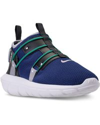 d45eb6e066352 Lyst - Nike Men s Free 4.0 Flyknit Running Sneakers From Finish Line ...