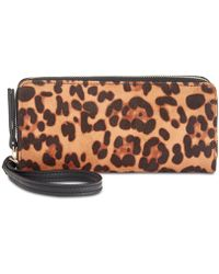 INC International Concepts - I.n.c. Remmey Leopard-print Zip-around Wallet, Created For Macy's - Lyst