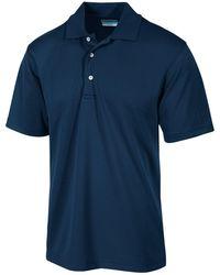 PGA TOUR - Airflux Solid Golf Polo - Lyst