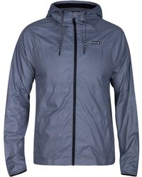 Hurley - Men's Protect Solid Jacket - Lyst