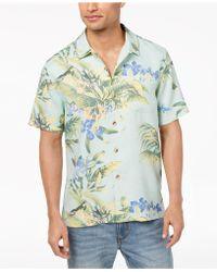 Tommy Bahama - Bird Dream Tropical-print Silk Shirt - Lyst