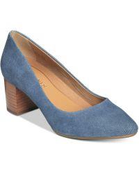 Aerosoles - Silver Star Court Shoes - Lyst