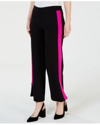 INC International Concepts - I.n.c. Petite Striped Wide-leg Pants, Created For Macy's - Lyst