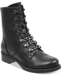 G by Guess - Meera Combat Booties - Lyst