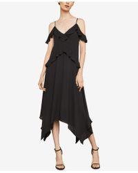 BCBGMAXAZRIA - Lissa Asymmetrical Slip Dress - Lyst