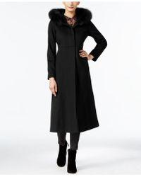 Forecaster | Fox-fur-trim Hooded Maxi Coat | Lyst