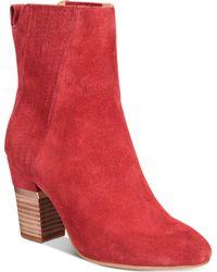 Lucca Lane - Jadia Block-heel Ankle Booties - Lyst
