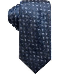 Alfani - Men's Neat Silk Slim Tie, Created For Macy's - Lyst