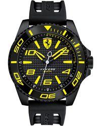 Ferrari - Men's Xx Kers Black Silicone Strap Watch 50mm 830307 - Lyst
