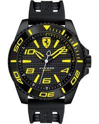 Ferrari - Men's Xx Kers Black Silicone Strap Watch 50mm 830307 - Lyst