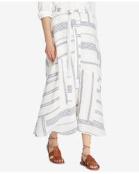 Polo Ralph Lauren - Patchwork Skirt - Lyst