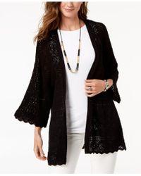 Style & Co. - Petite Kimono Cardigan, Created For Macy's - Lyst