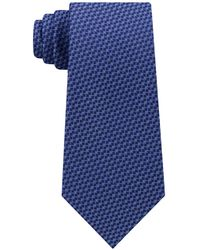 Michael Kors - Interconnected Lines Silk Tie - Lyst