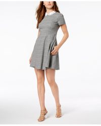Maison Jules - Embellished Fit & Flare Dress, Created For Macy's - Lyst