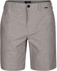 "Hurley - Breathe Heathered Dri-fit 9.5"" Shorts - Lyst"