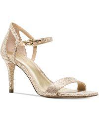 Michael Kors - Simone Dress Sandals - Lyst