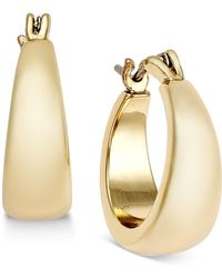 Charter Club - Gold-tone Huggie Hoop Earrings - Lyst