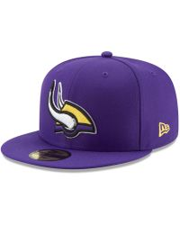 the latest c2d82 783b9 KTZ Minnesota Vikings Nfl Heather Gray Bucket Hat in Gray - Lyst