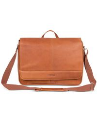 "Kenneth Cole Reaction - ""columbia"" Single Gusset Messenger Bag - Lyst"
