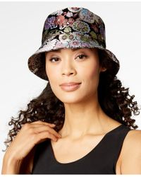 Steve Madden - Multicolour Brocade Bucket Hat - Lyst