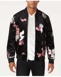 INC International Concepts - Abstract Floral Bomber Jacket, Created For Macy's - Lyst