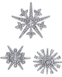 INC International Concepts - Silver-tone 3-pc. Set Star Pins - Lyst