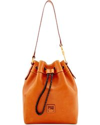 Dooney & Bourke - Florentine Hattie Medium Drawstring Bag - Lyst