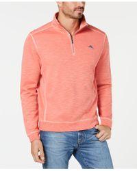 Tommy Bahama - Tobago Bay Half Zip Sweatshirt - Lyst