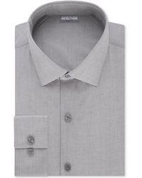 Kenneth Cole Reaction - Slim-fit Techni-cole Flex Collar Solid Dress Shirt - Lyst