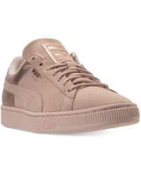 PUMA - Suede Lunalux Casual Sneakers From Finish Line - Lyst