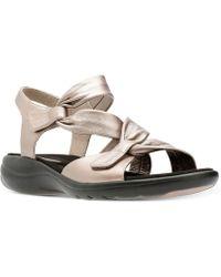 Clarks - Women's Saylie Moon Sandals - Lyst