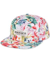 Woolrich - Brooklyn Hat Co. Tres Flores Printed Cap - Lyst