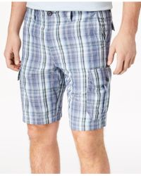 Tommy Bahama - Marina Bay Plaid Cargo Shorts - Lyst