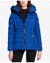 CALVIN KLEIN 205W39NYC - Performance Faux-fur-trimmed Hooded Puffer Coat - Lyst