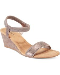 Alfani - Giselee Wedge Sandals - Lyst