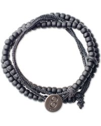 100 Good Deeds - Black Bracelet - Lyst