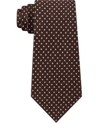 Michael Kors - Textured Allover Dot Silk Tie - Lyst