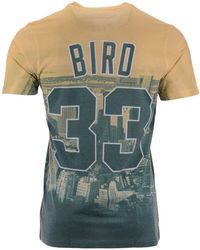 59c226807 Mitchell   Ness - Larry Bird Boston Celtics City Pride Name And Number  T-shirt