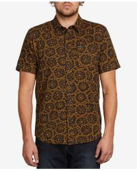 Volcom - Turntail Tile-print Shirt - Lyst