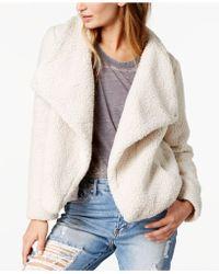 Jack BB Dakota - Faux-fur Sherpa Fleece Jacket - Lyst