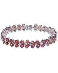 Macy's - Rhodolite Garnet Link Bracelet (30 Ct. T.w.) In Sterling Silver - Lyst