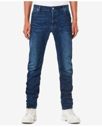 668b4b97d09 G-Star RAW - Men's Arc 3d Slim-fit Stretch Jeans - Lyst