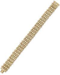 Macy's - Woven-style Bracelet In 18k Gold - Lyst