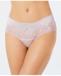 Wacoal - Lace Affair Scalloped Tanga 845256 - Lyst