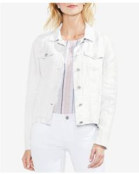 Vince Camuto - Classic Linen Jacket - Lyst