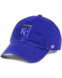 47 Brand - Cooperstown Clean Up Cap - Lyst
